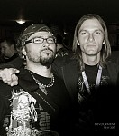 with my friend Petr of GODLESS TRUTH